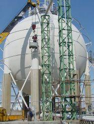 Acoustic Emission Pressure Vessel Testing Monpac